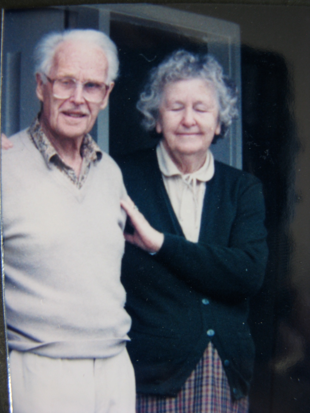 Frances and Henry Whitehead, 1999, New Zealand