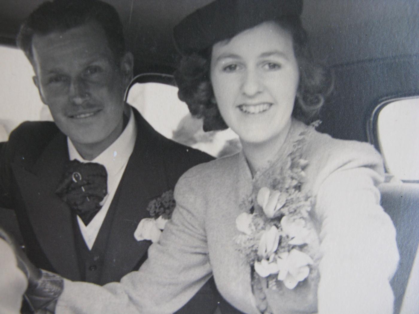 Wartime wedding in New Zealand