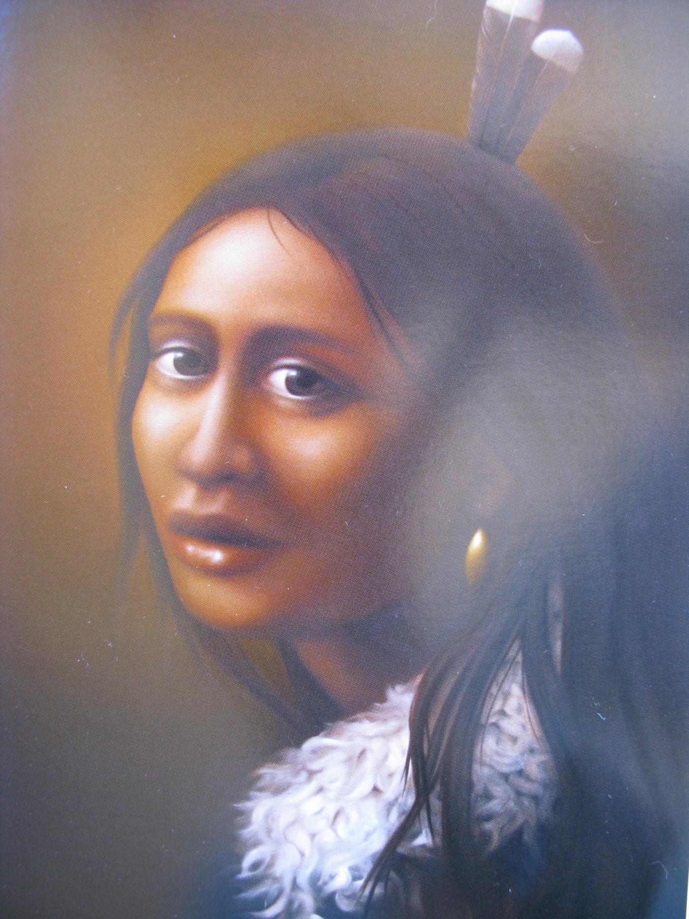 Sofia Minson's 'Girl with Pounamu'