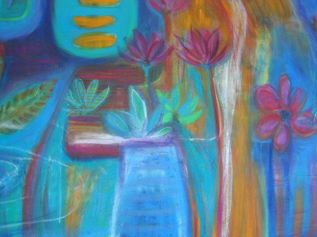 Artist based in Omokoroa, NZ - Emma Prill's painting