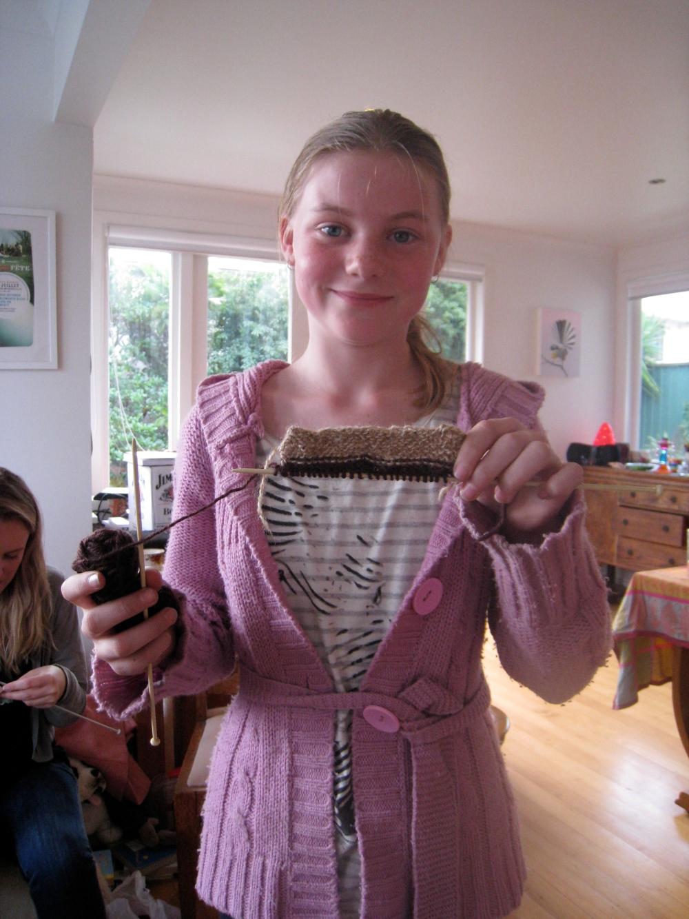 wild & grace's knitting bee