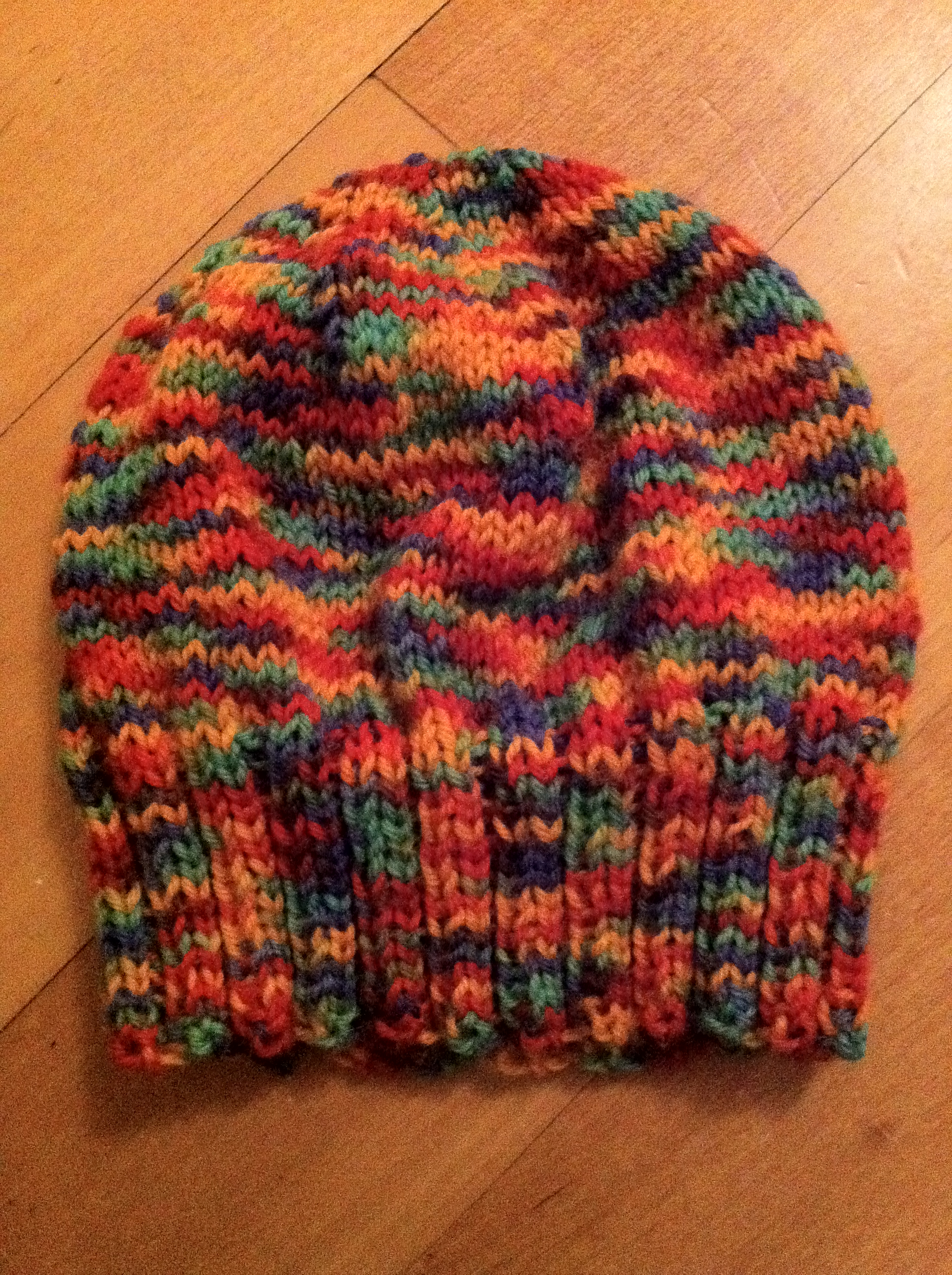 Top Quality How To Knit A Baby Hat Or Beanie Ribbed Stitch Youtube