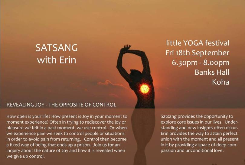 satsang with erin