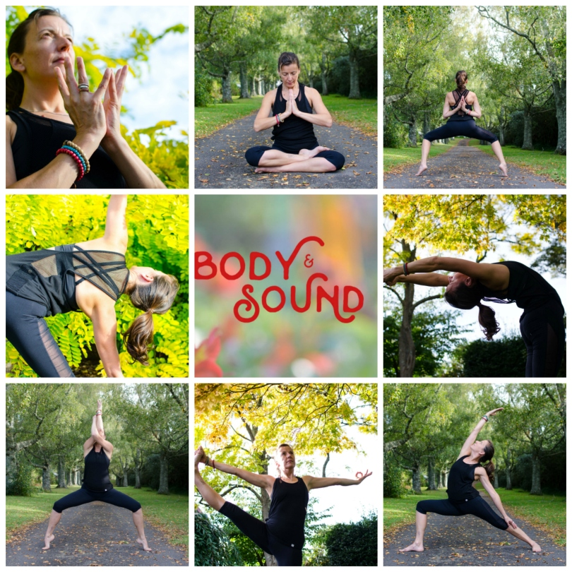 DFBS Autumn Yoga Collage