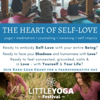 The Heart of Self-Love a day retreat with Kara-Leah Grant in Tauranga - a post glow event for little YOGA festival