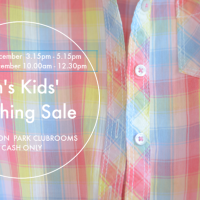 Ems' Kids' - Pre-loved to be re-loved - Clothing Sale Fergusson Park Clubrooms Matua THIS weekend