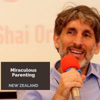 Miraculous Parenting - Shai Orr comes to Aotearoa New Zealand - FREE online evening zoom course Monday 6 July 2020